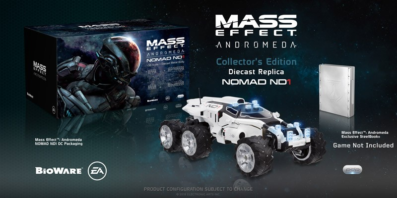 Mass Effect Andromeda Diecast Replica Nomad ND1 Collector's Edition