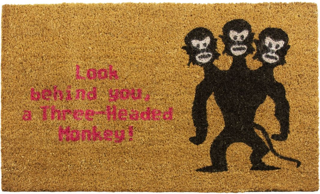 Monkey Fußmatte