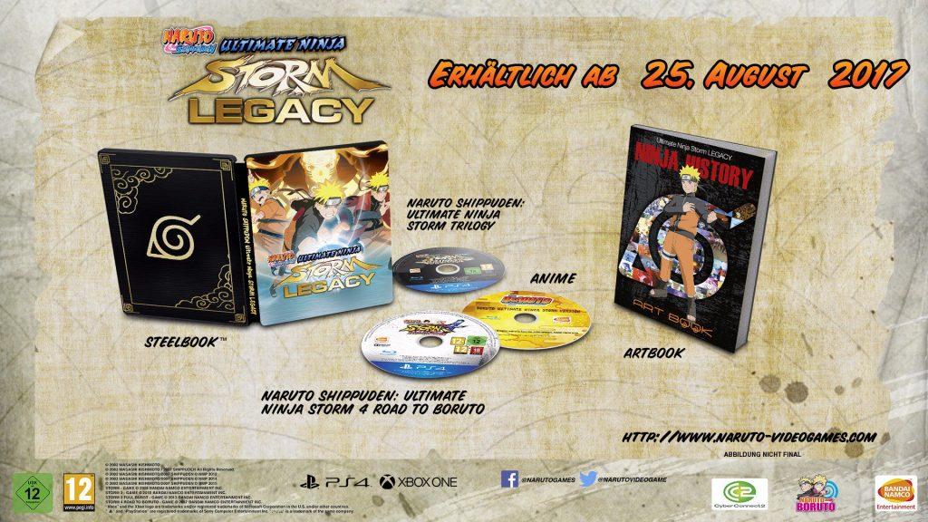 Naruto Shippuden Ultimate Ninja Storm Legacy Edition