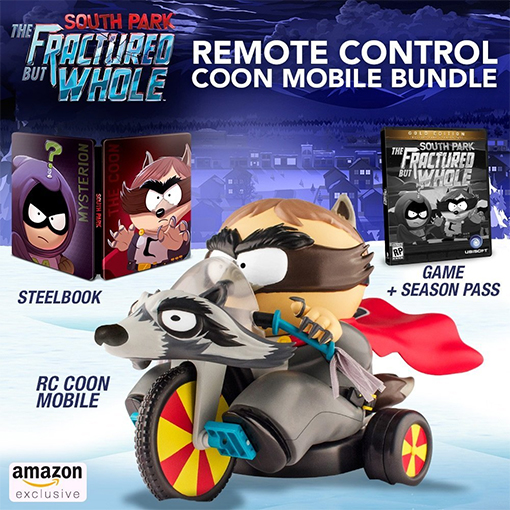 South Park The Fractured but Whole Remote Control Coon Mobile Bundle