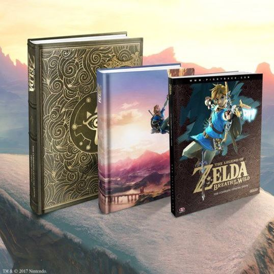 The Legend of Zelda Breath of the Wild Guide Books