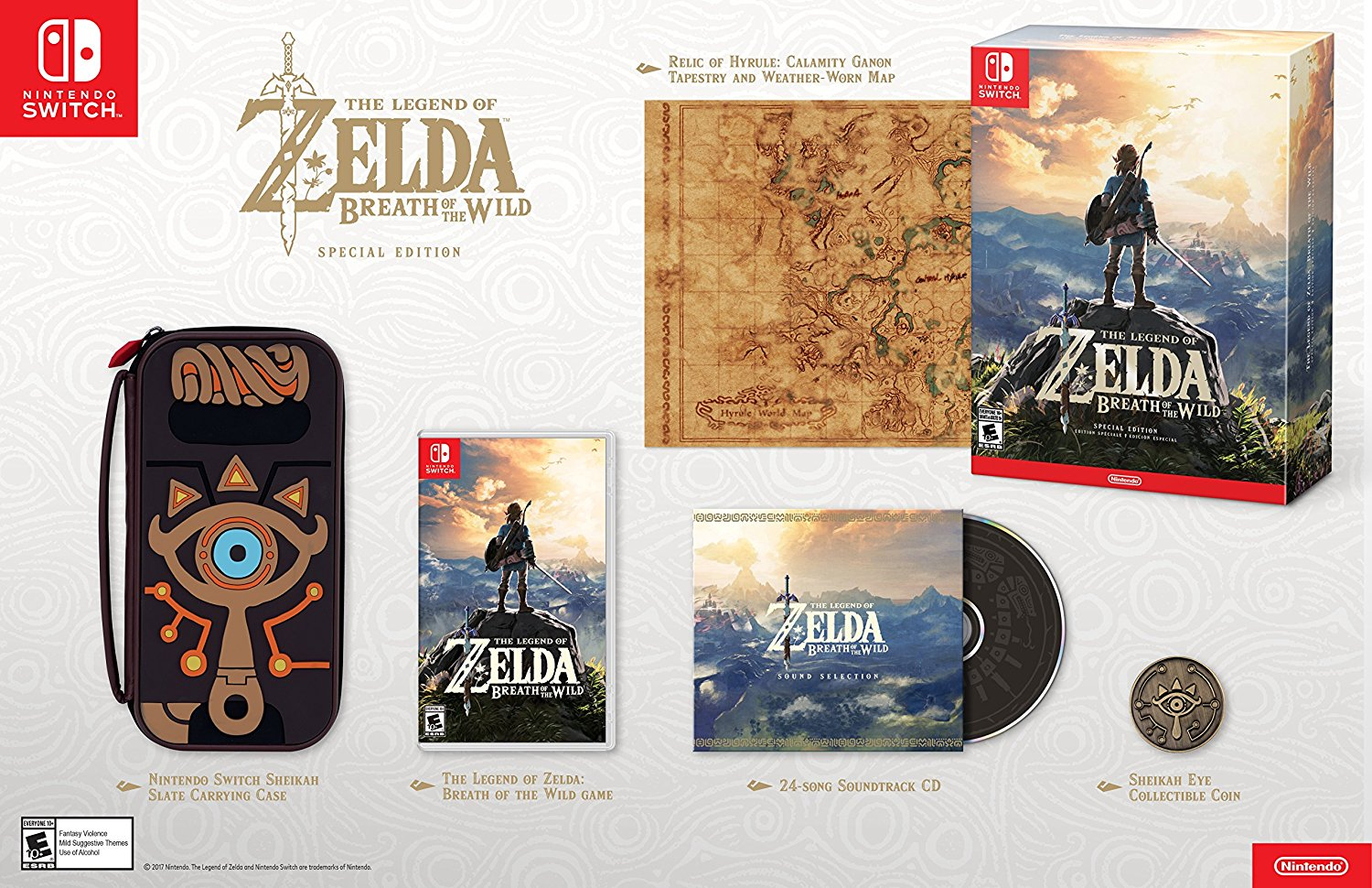 The Legend of Zelda Breath of the Wild Special Edition US