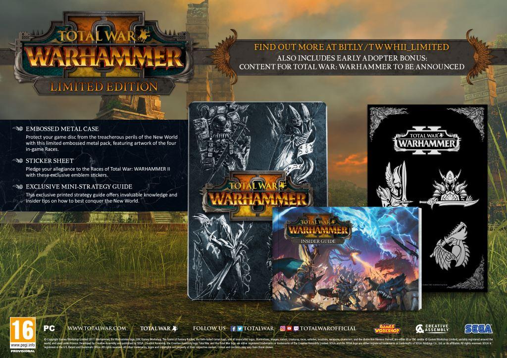 Total War Warhammer II Limited Edition