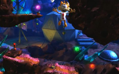 Bubsy The Woolies Strike Back Purrfect Edition ohne goldenes Wollknäuel