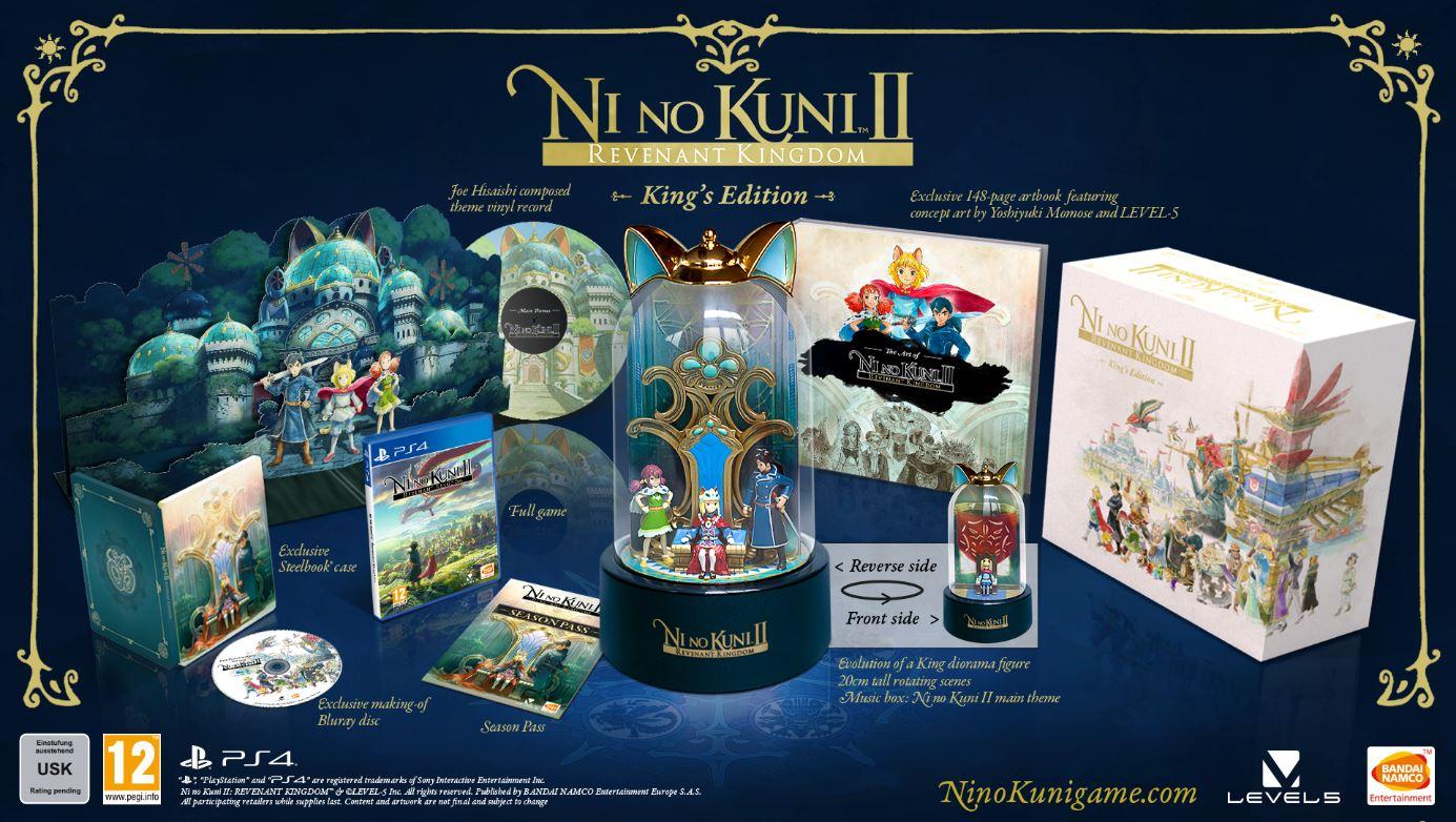 Ni No Kuni II Schicksal eines Königreichs King's Edition