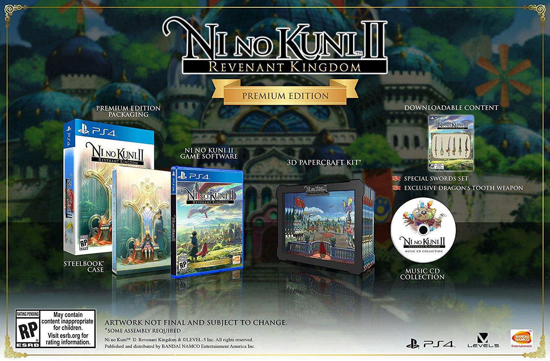 Ni No Kuni II Schicksal eines Königreichs Premium Edition