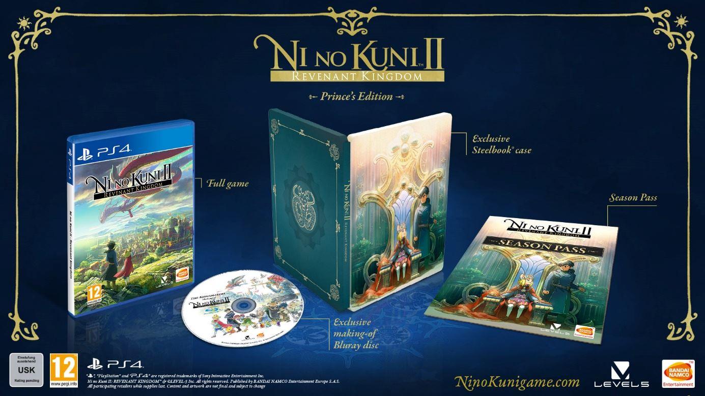 Ni No Kuni II Schicksal eines Königreichs Prince's Edition