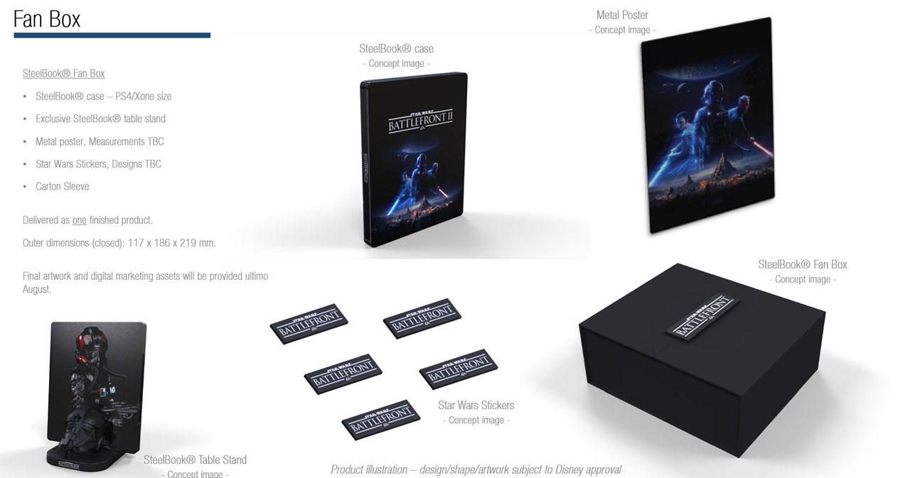 Star Wars Battlefront 2 Limited Fan Edition
