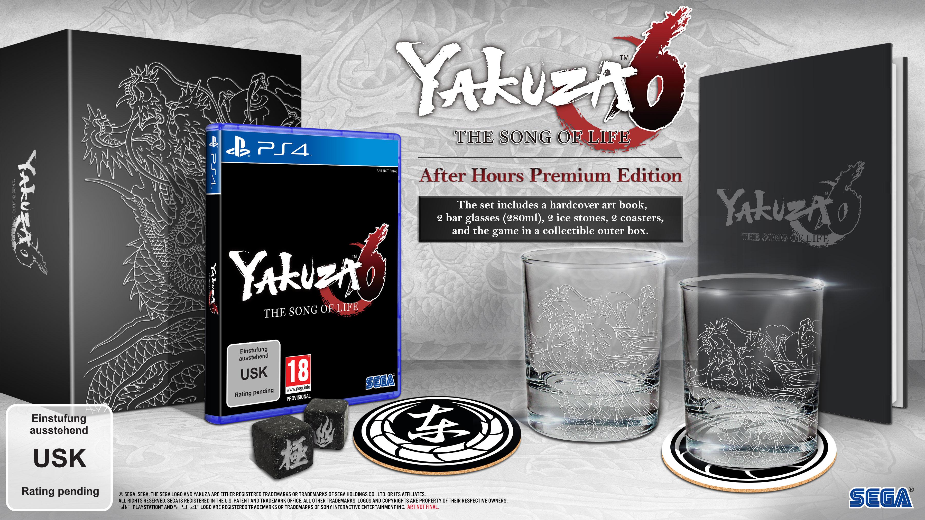 Yakuza 6 Das Lied des Lebens After Hours Premium Edition