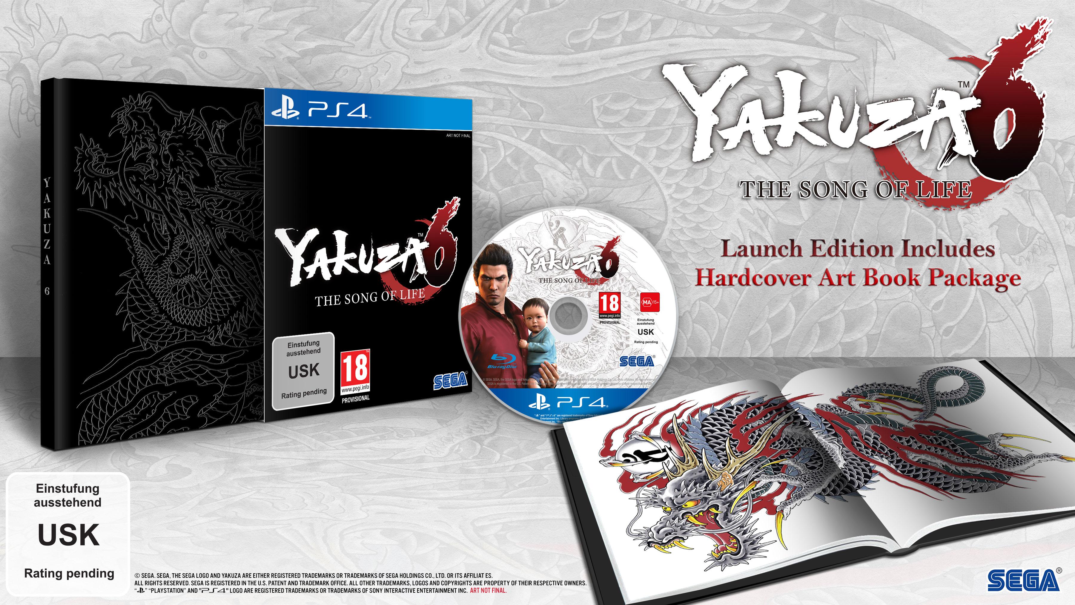 Yakuza 6 Das Lied des Lebens Launch Edition