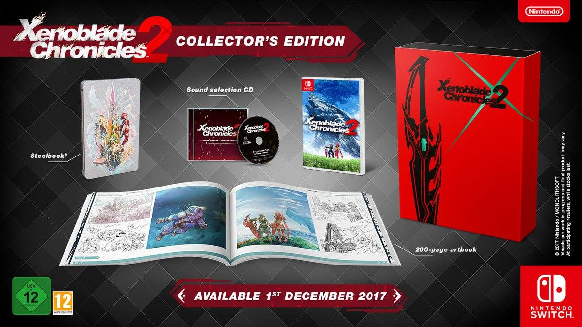 Xenoblade Chronicles 2 Collector's Edition