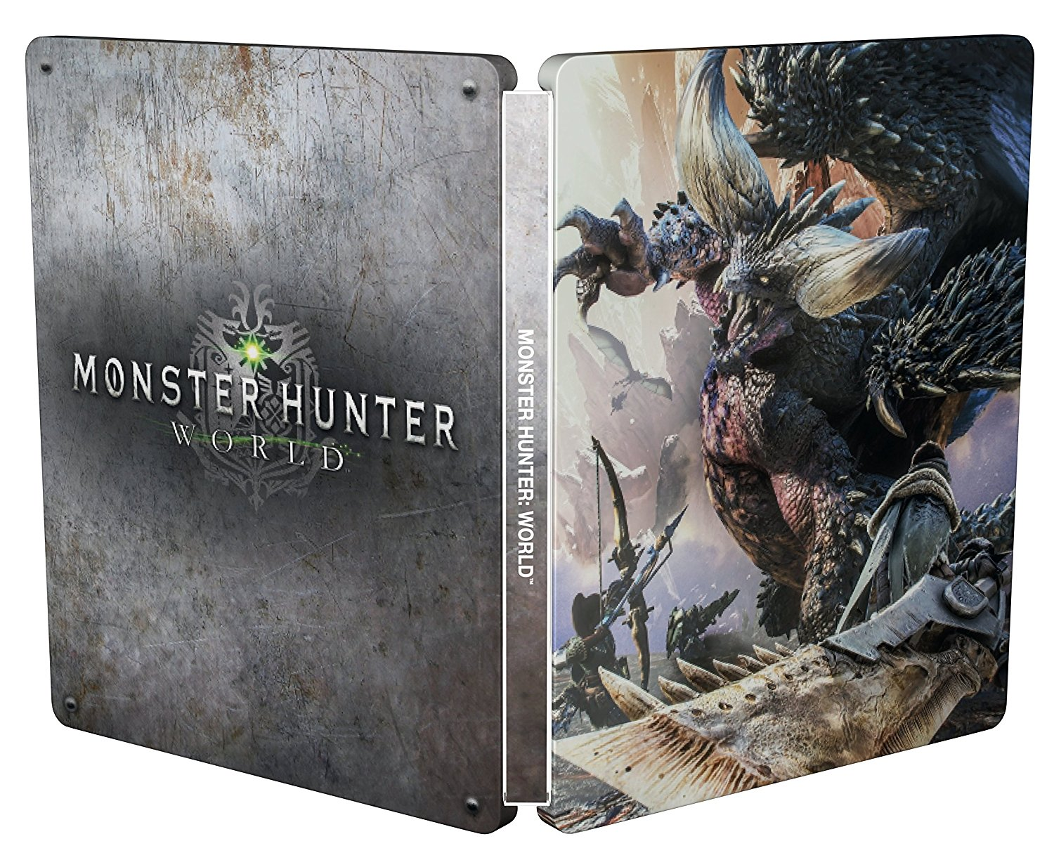 Monster Hunter World Steelbook