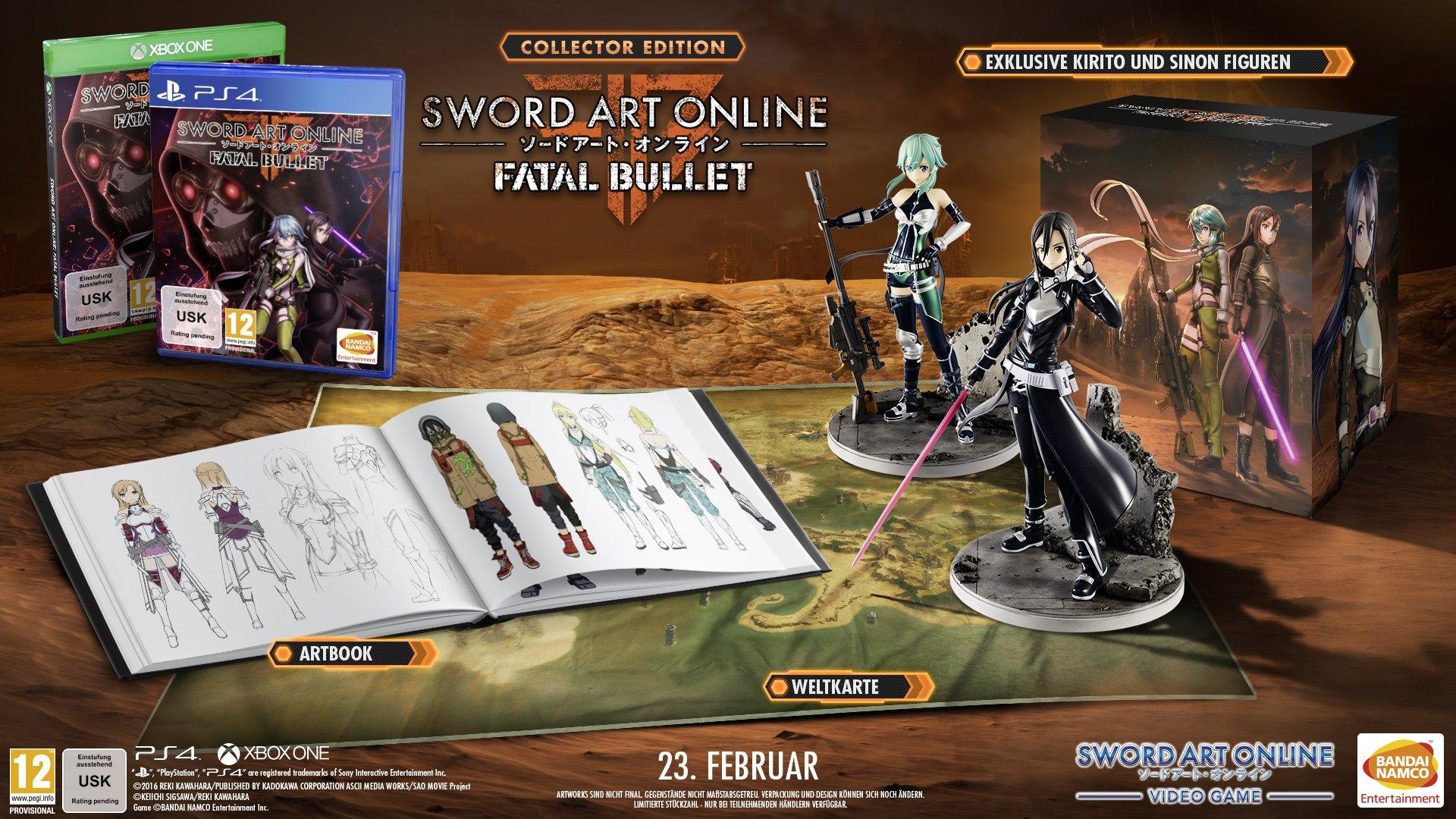 Sword Art Online Fatal Bullet Collector Edition