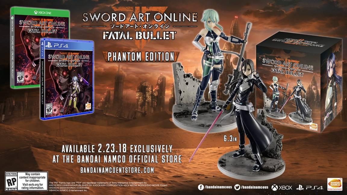 Sword Art Online Fatal Bullet Phantom Edition