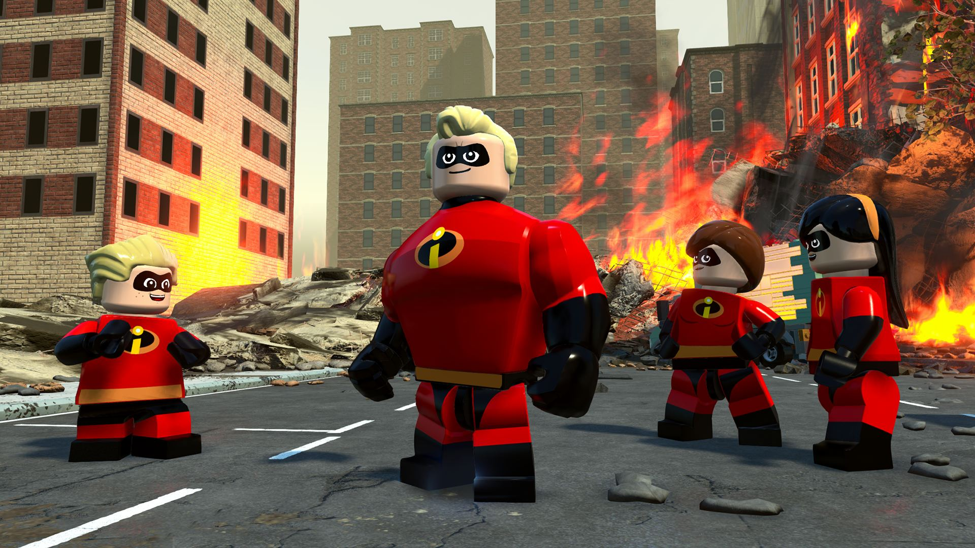 LEGO Die Unglaublichen Toy Edition