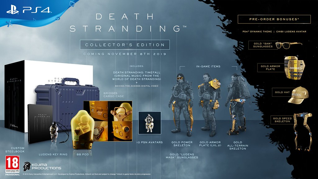Death Stranding Collector's Edition