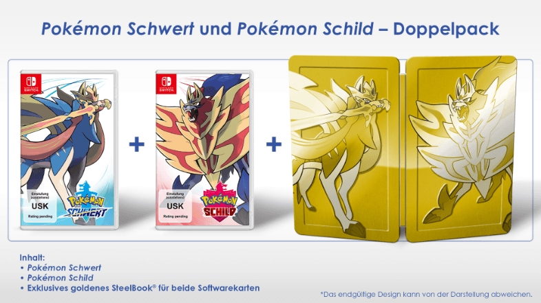Pokémon Schwert und Schild Doppelpack