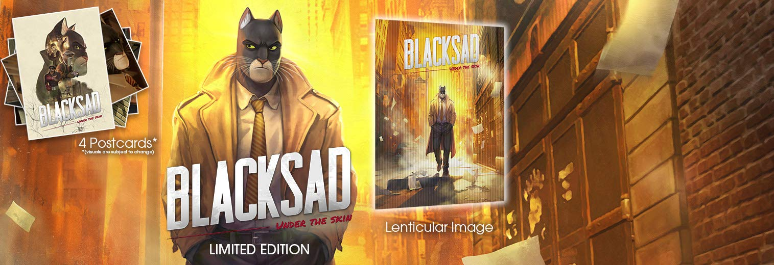 Blacksad Under the Skin Limited Edition