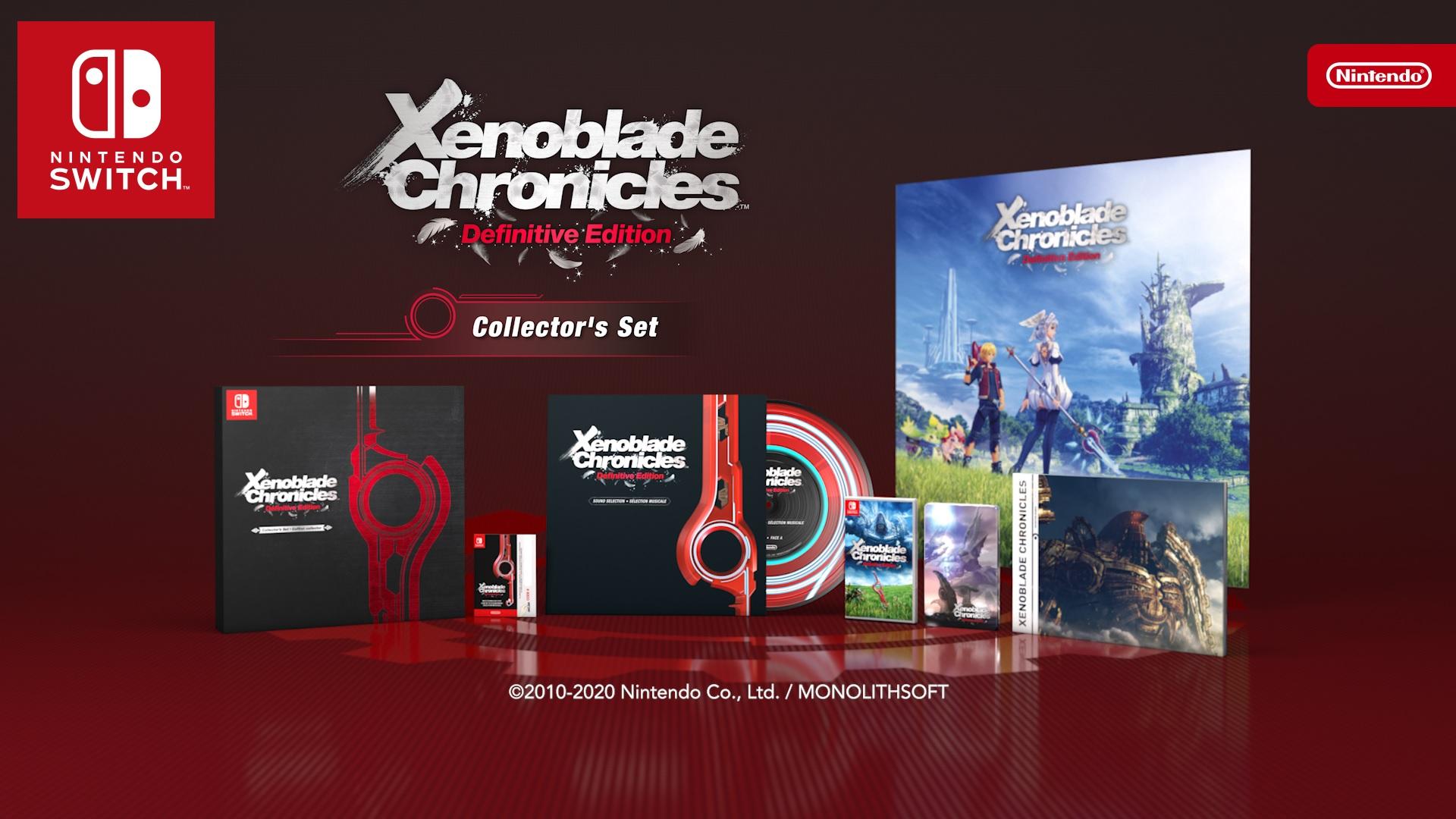 Xenoblade Chronicles Definitive Edition Collector's Set