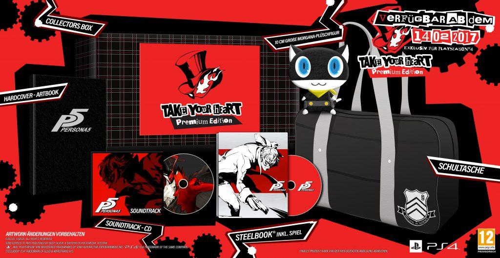 "Persona 5 Collector's ""Take your Heart"" Premium-Edition"