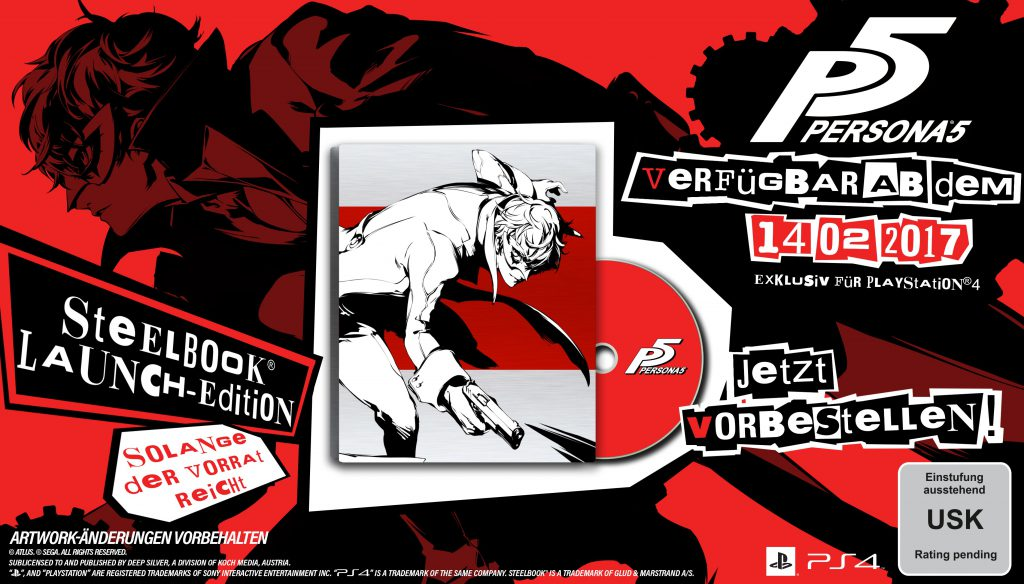 Persona 5 Limited SteelBook D1-Edition