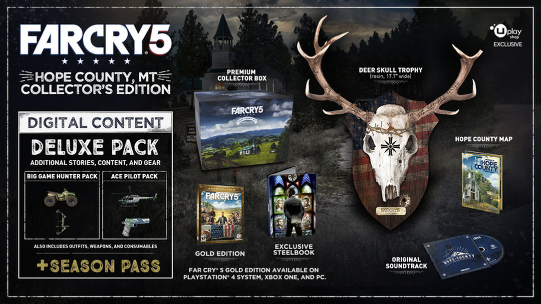 Far Cry 5 Hope County Edition