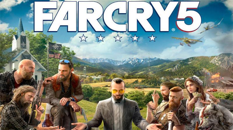 Far Cry 5 Sammlereditionen mit Hirschgeweih und Sekten-Priester