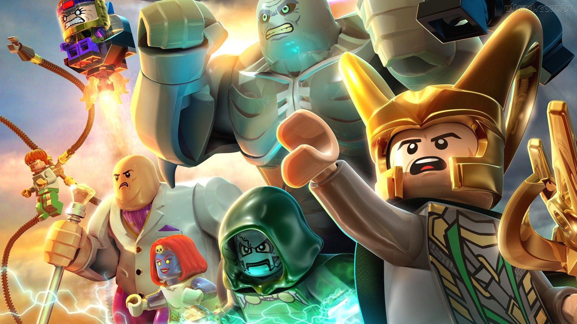 Lego Marvel Superheroes Deluxe Edition
