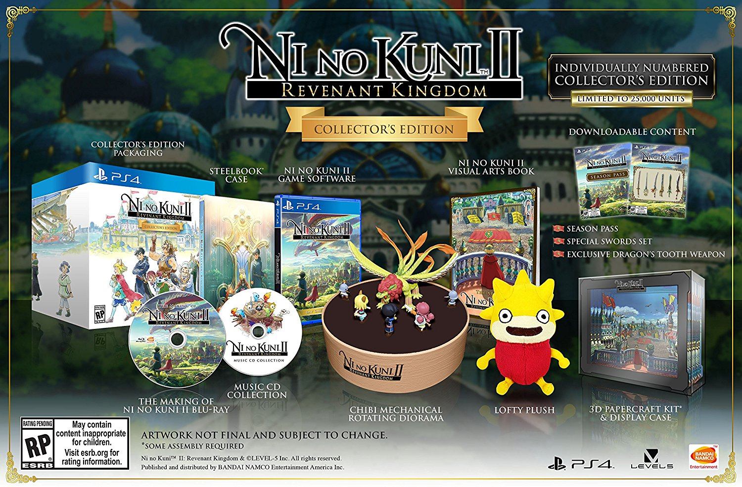 Ni no Kuni II Revenant Kingdom Collector's Edition