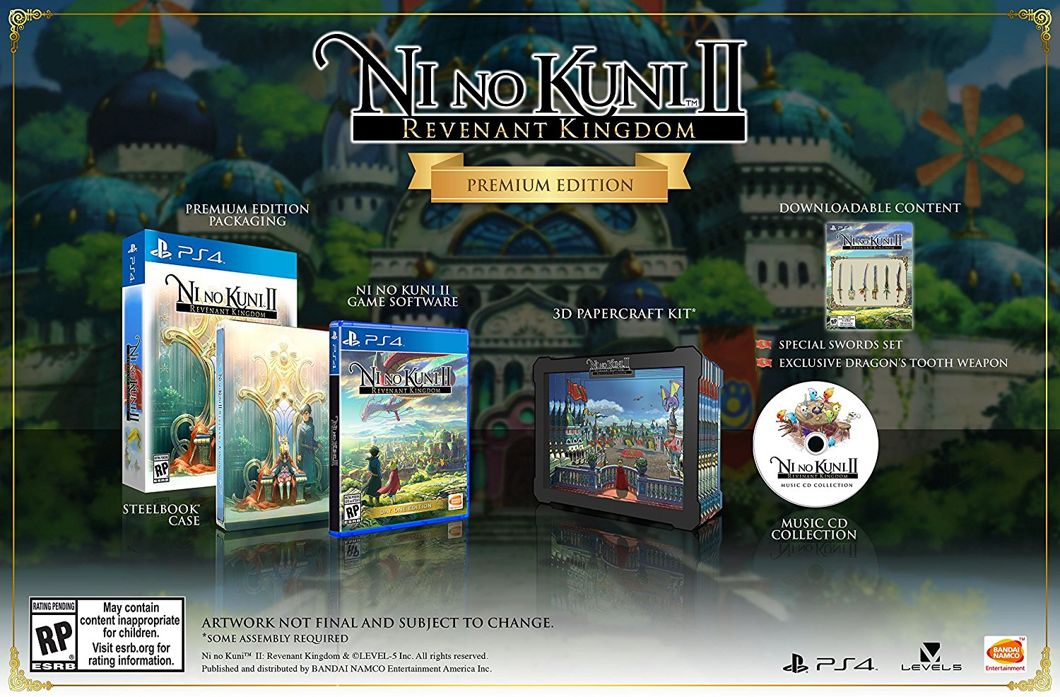 Ni no Kuni II Revenant Kingdom Premium Edition