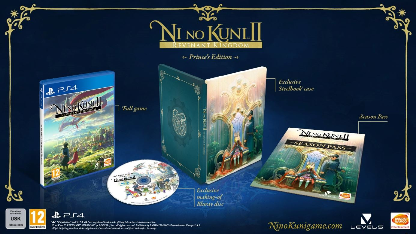 Ni No Kuni II Revenant Kingdom Prince's Edition
