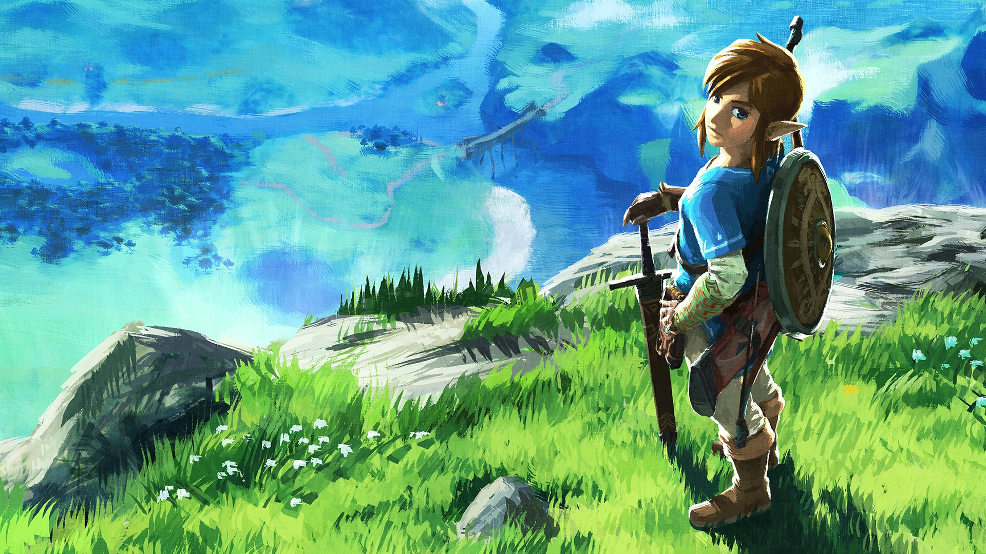 The Legend of Zelda Breath of the Wild Explorer's Edition