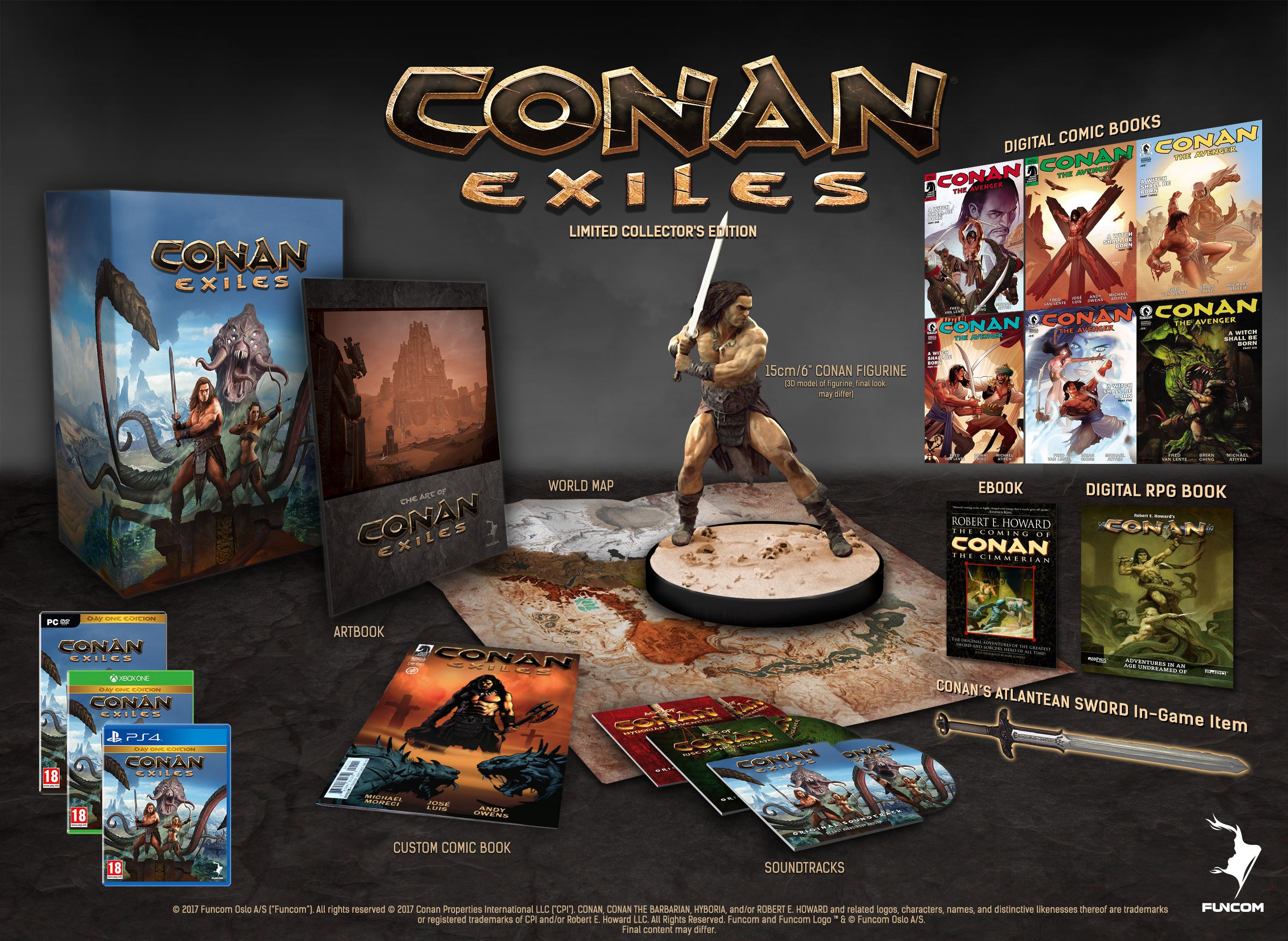 Conan Exiles Limited Collector's Edition