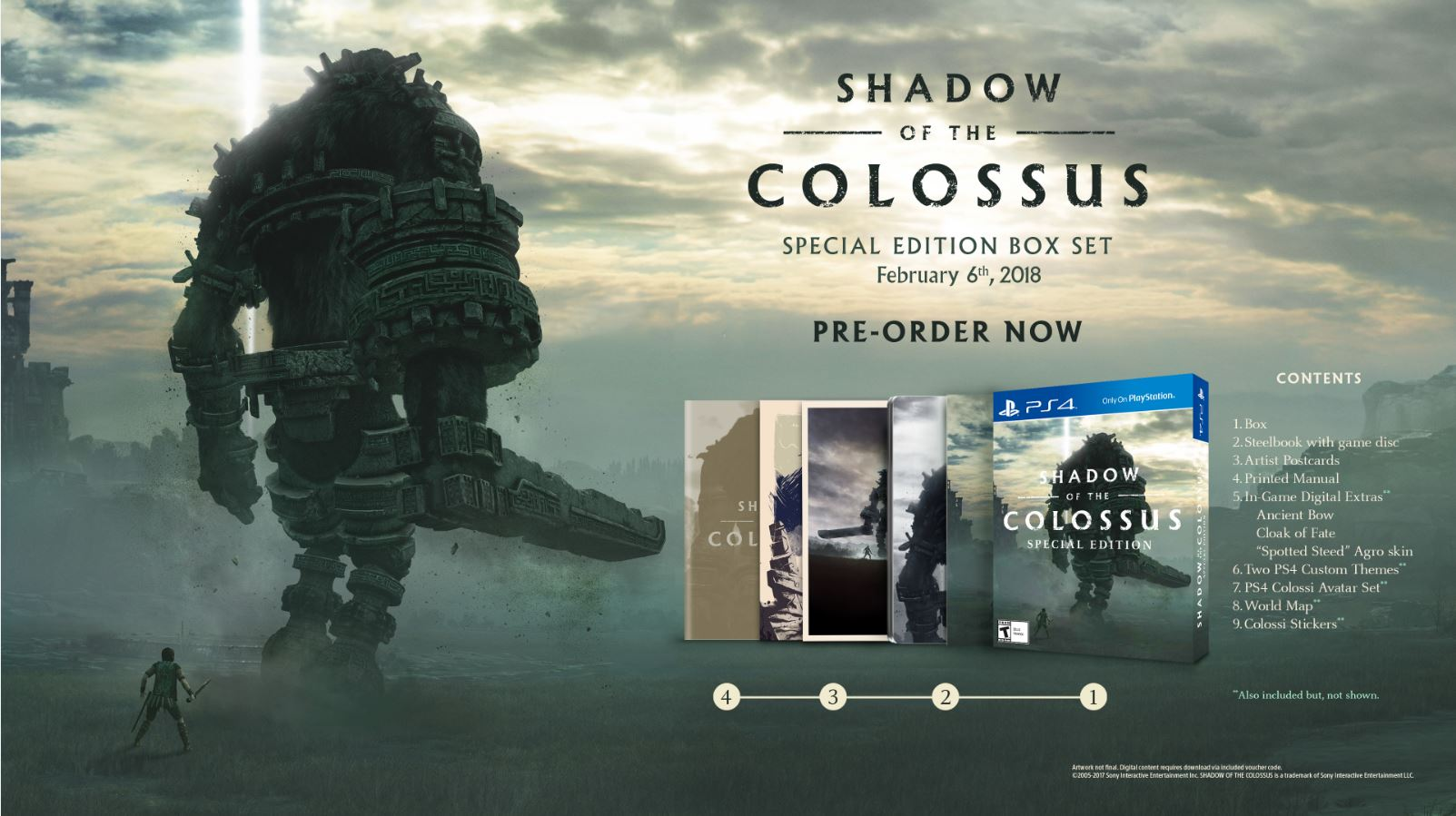 Shadow of the Colossus Special Edition Box Set