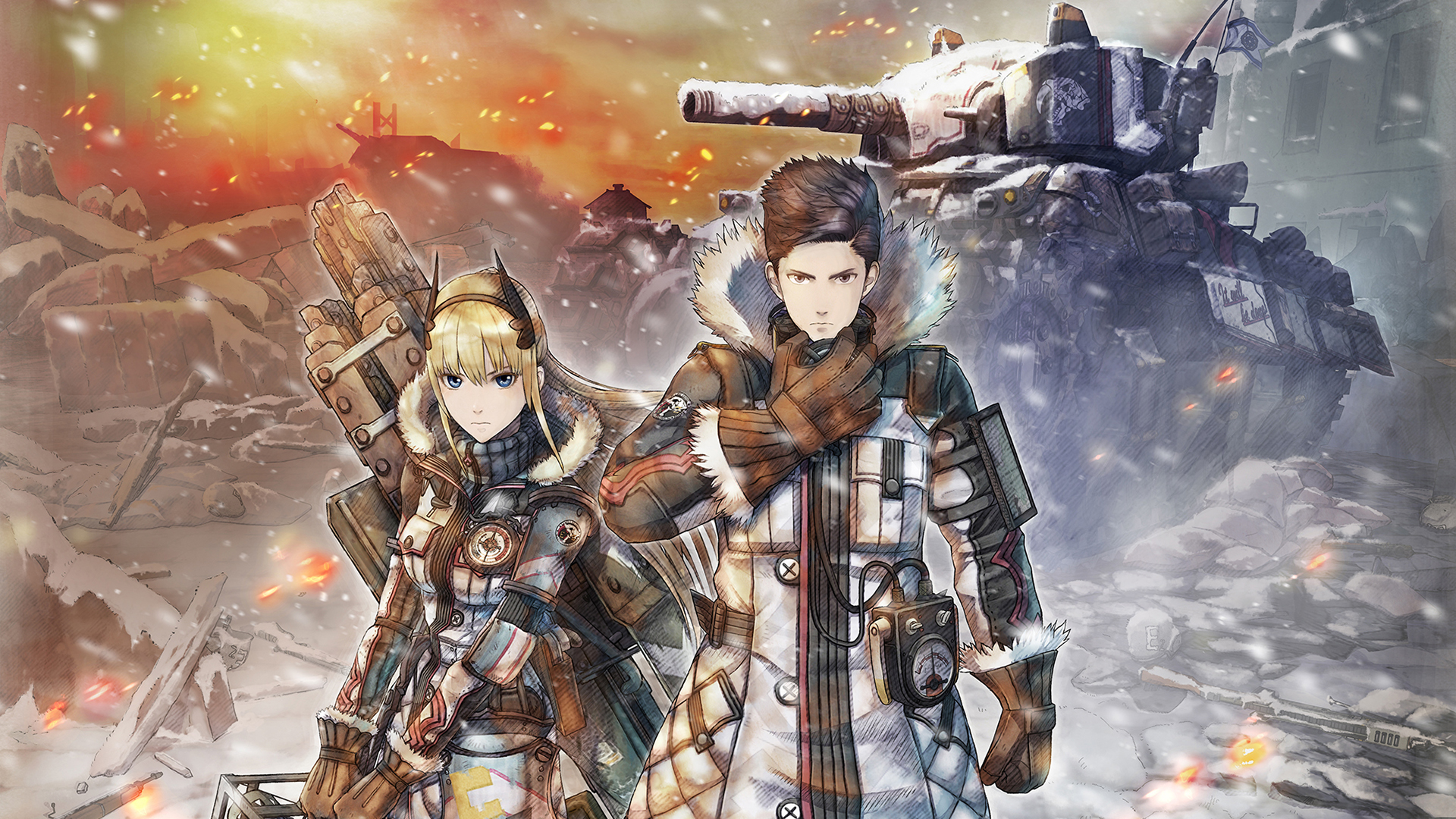 Valkyria Chronicles 4 10th Anniversary Memorial Pack DX Pack Limited Edition