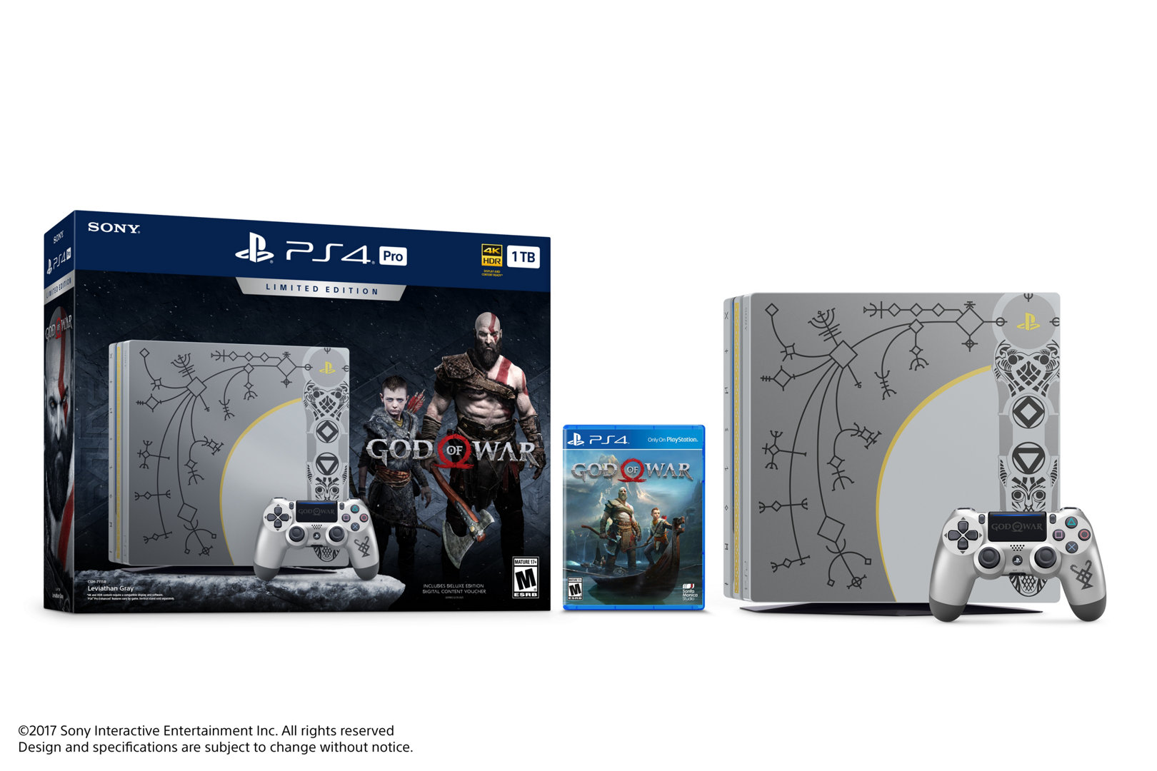 God of War PS4 Pro Bundle Limited Edition