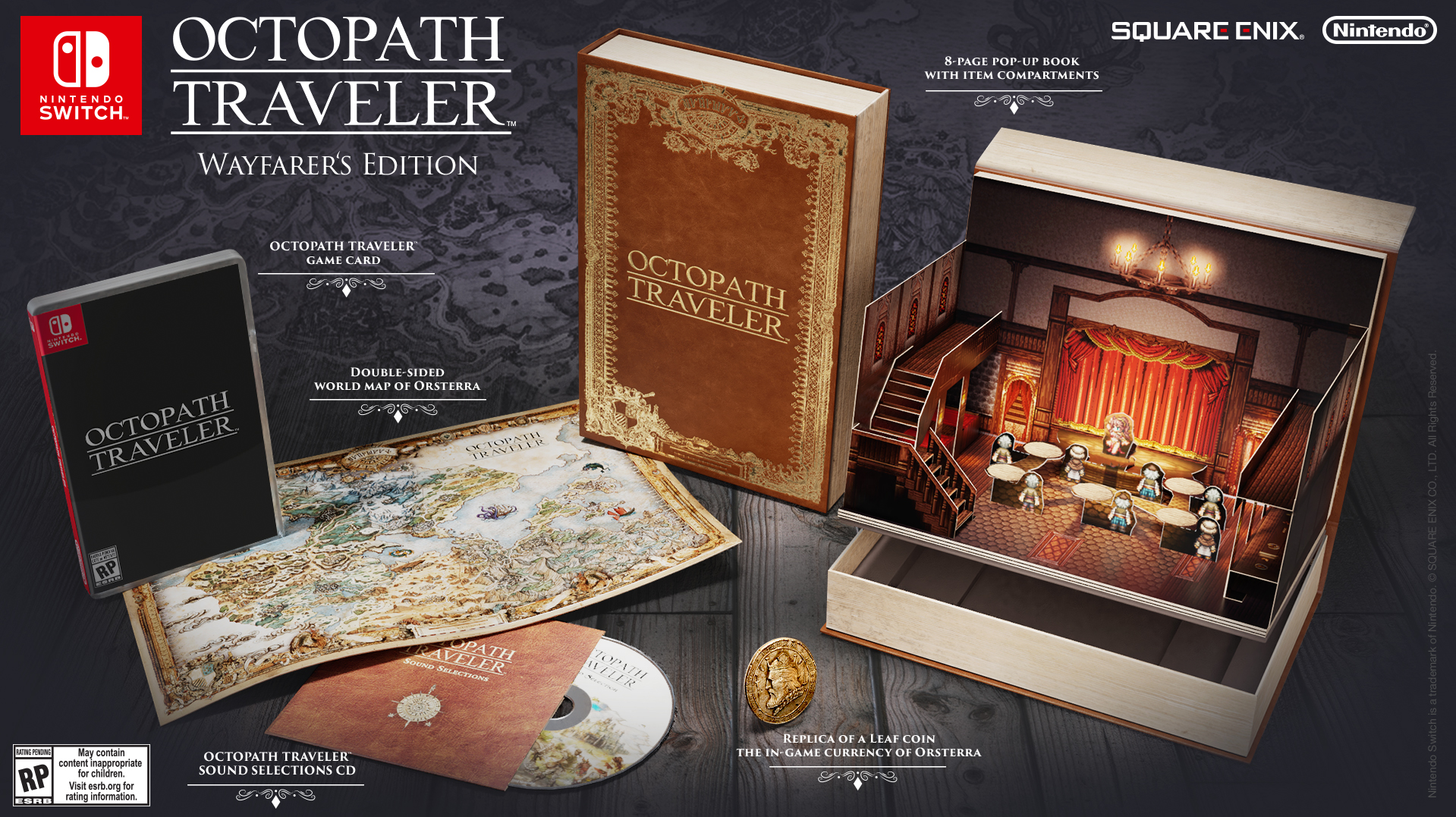 Octopath Traveler Wayfarer's Edition