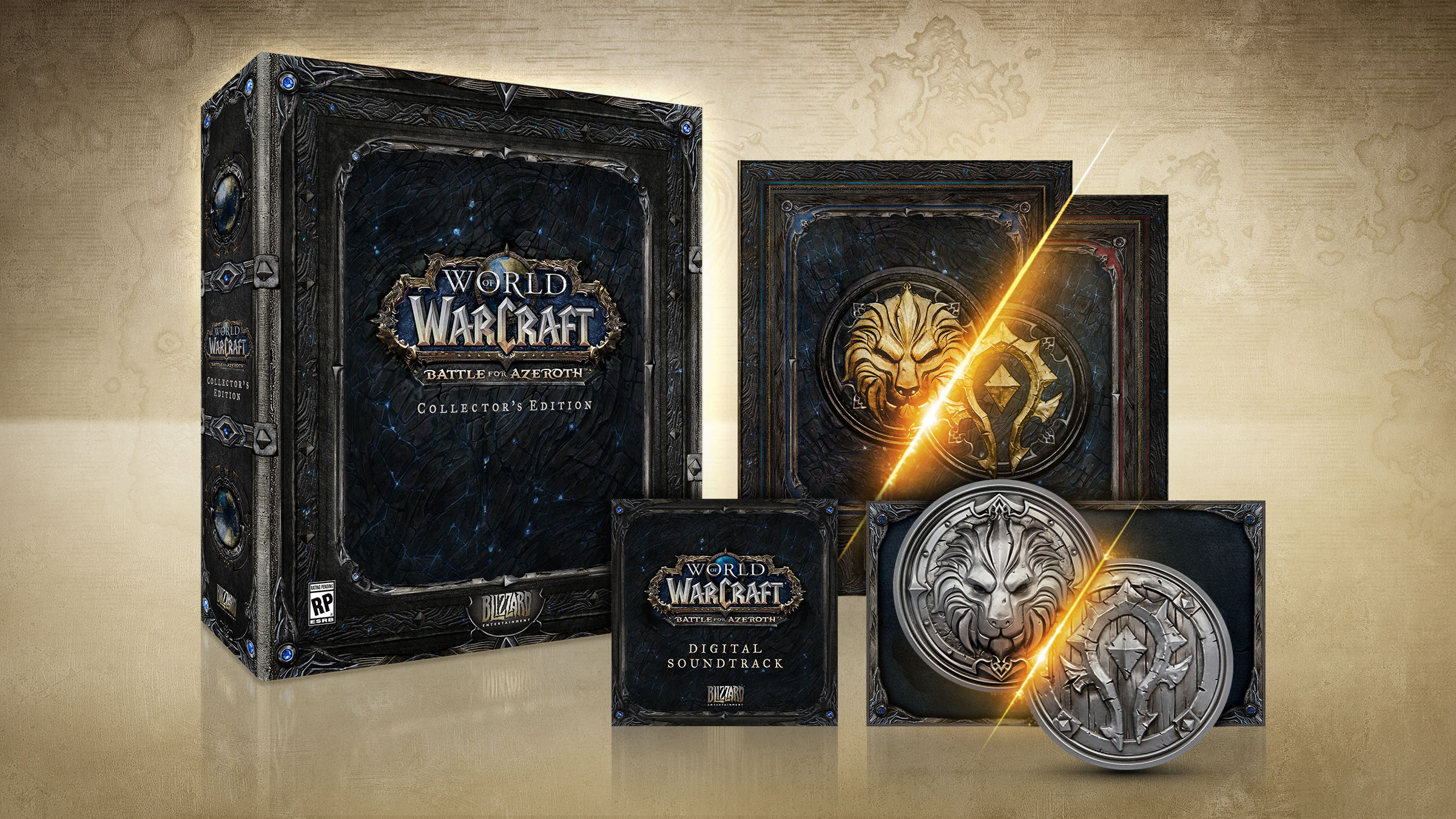 World of Warcraft Battle for Azeroth Collector's Edition