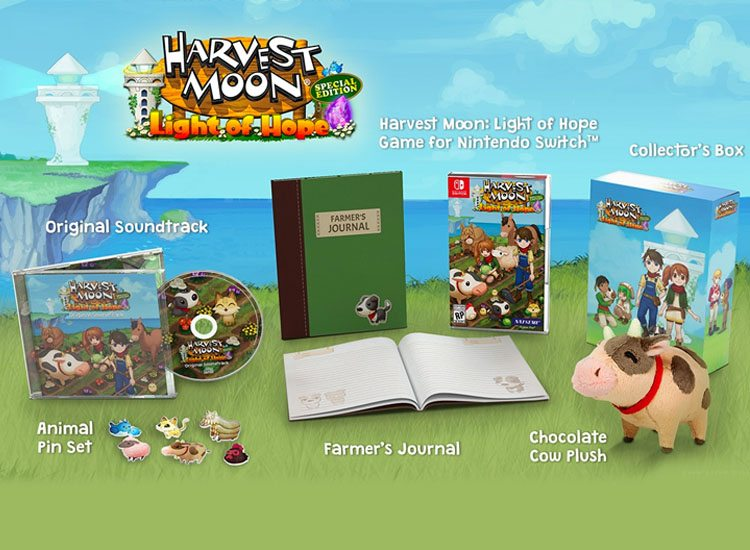Harvest Moon Light of Hope Limited Edition