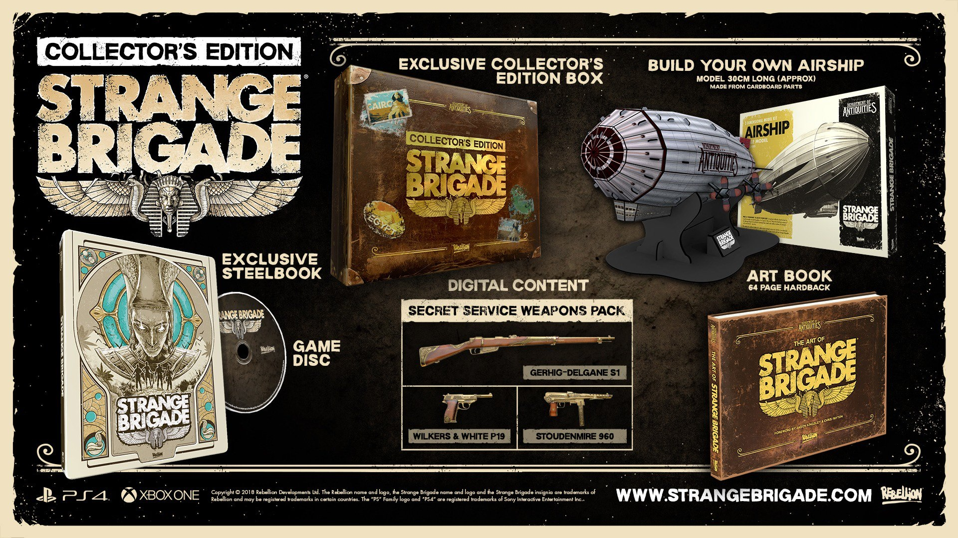 Strange Brigade Collector's Edition