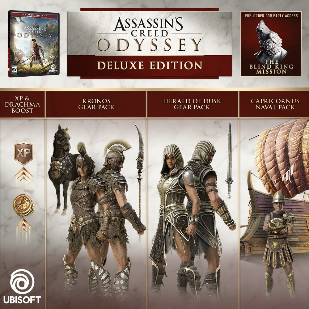 Update Assassin S Creed Odyssey All Collector S Editions Detailed