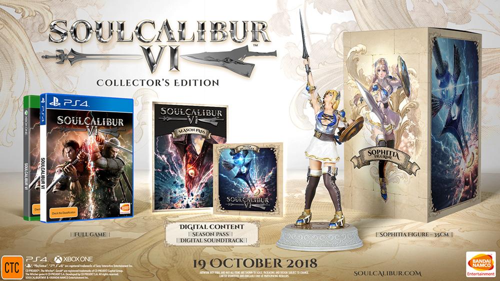 Soulcalibur VI Collector's Edition