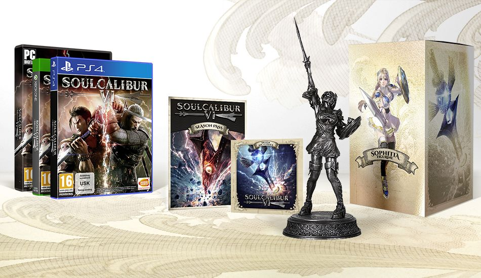 Soulcalibur VI Limited Silver Collector Edition