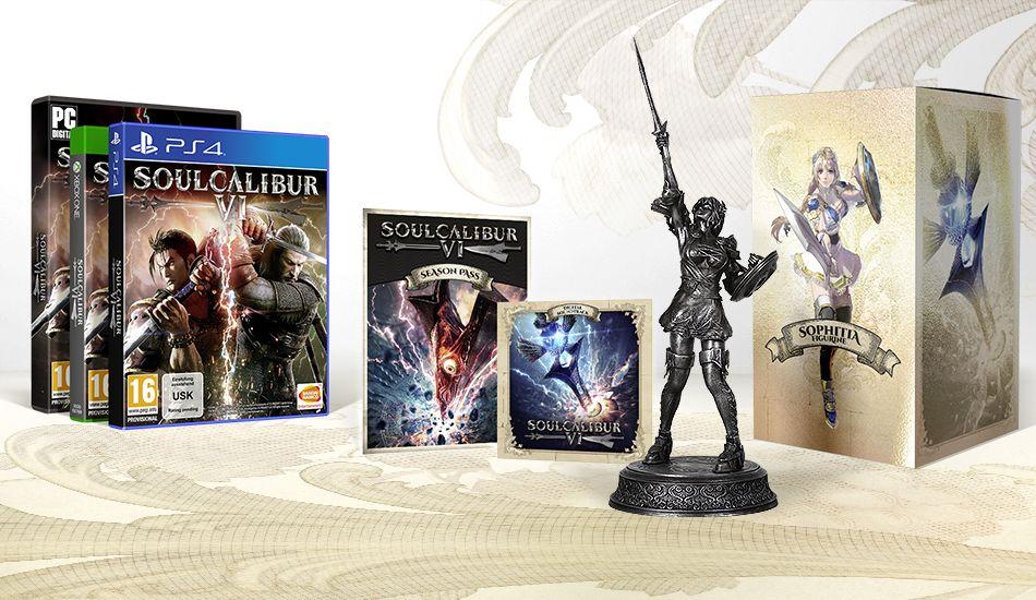 Soulcalibur VI Limited Silver Collector Edition