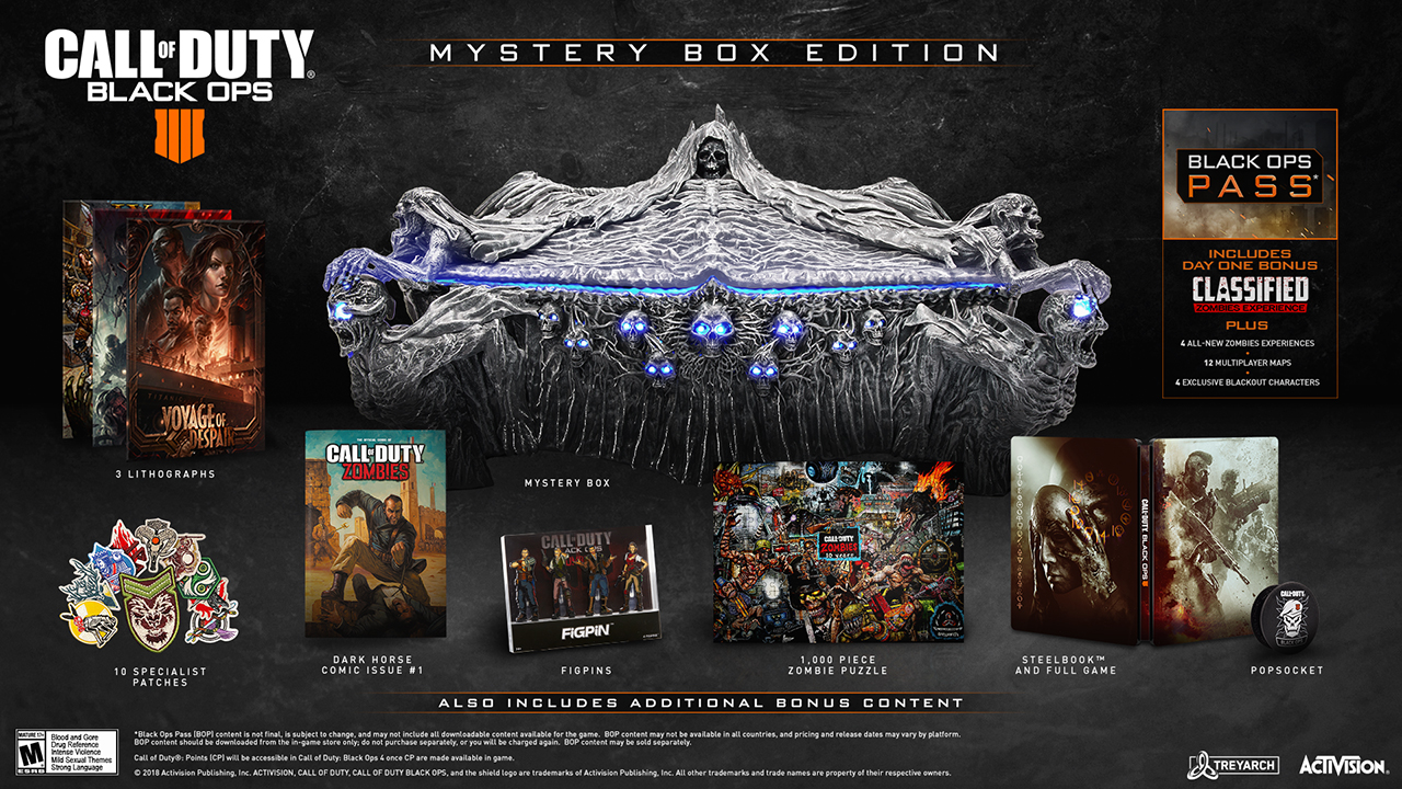 Call of Duty Black Ops 4 Mystery Box Edition