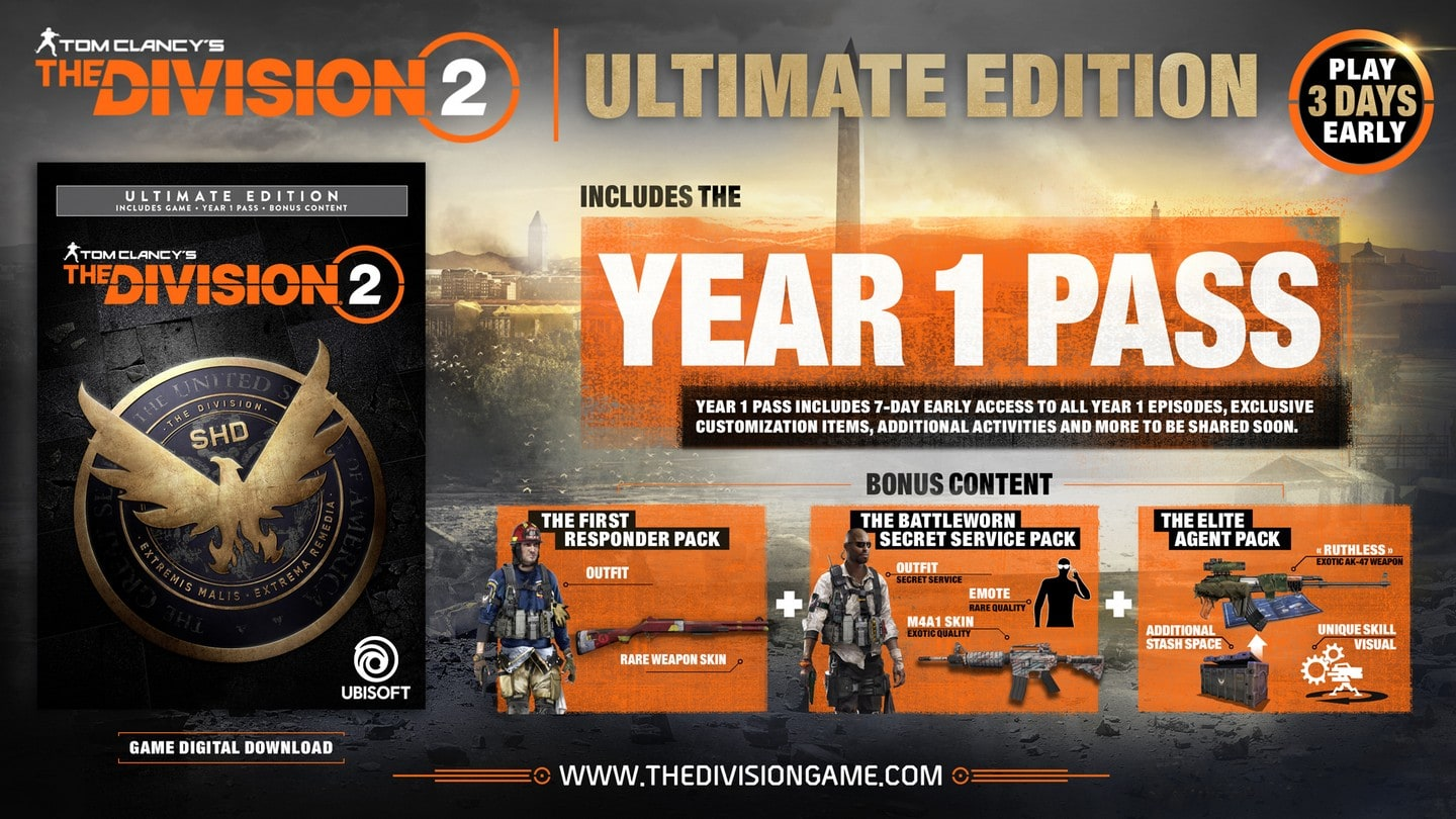 Tom Clancy's The Division 2 Steelbook Ultimate Edition