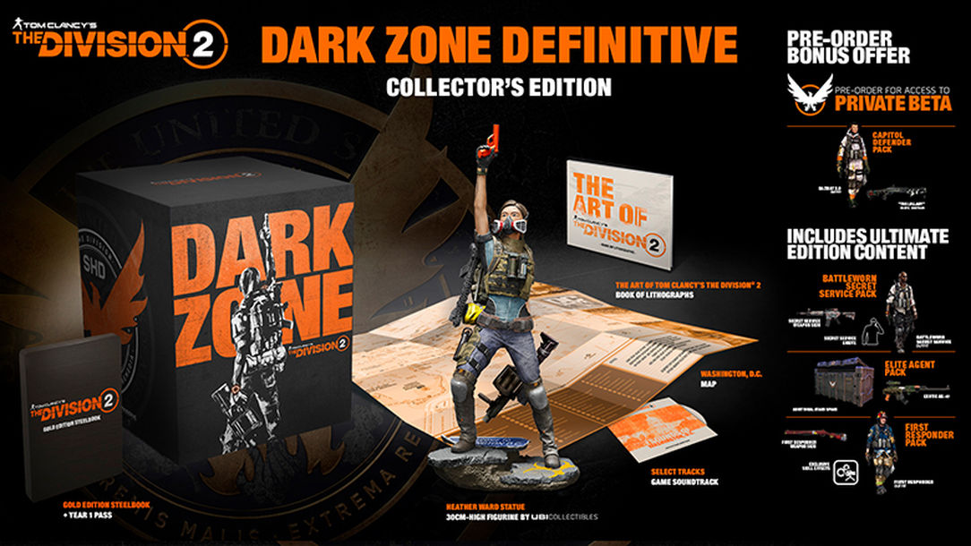 Tom Clancy's The Division 2 Dark Zone Definitive Collector's Edition