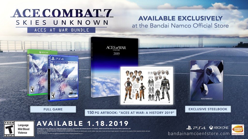 Ace Combat 7 Skies Unknown Aces at War Bundle
