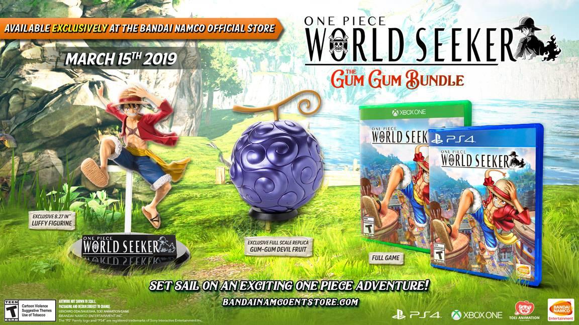 One Piece World Seeker The Gum Gum Bundle