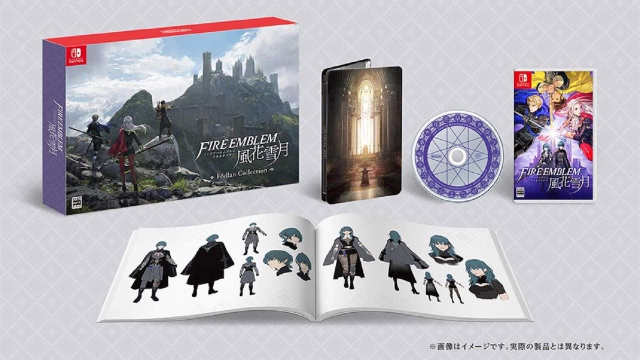 Fire Emblem Three Houses Fodlan Collection